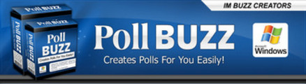 Thumbnail Poll Buzz: Poll Generator Software (MRR)