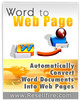 Thumbnail WordToWebPage Software (MRR)