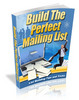 Thumbnail Building The Perfect Mailing List  (MRR)