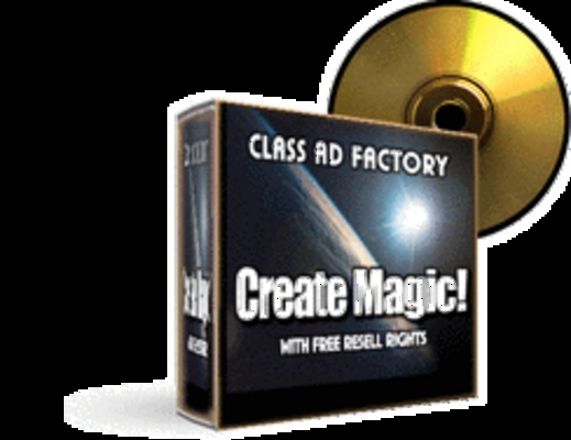 Product picture Class Ad Factory V.1 with/Resell Rights
