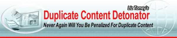 Product picture Duplicate Content Detonator  (MRR)