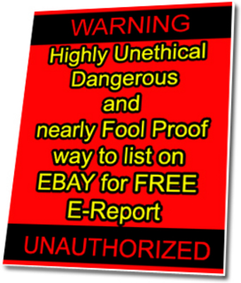Product picture The EBAY Loophole How to save 72 when selling on eBay (MRR)