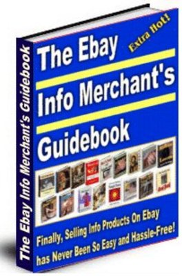 Product picture Ebay Info Merchants Guidebook  (MRR)