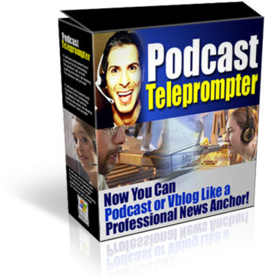 Product picture Podcast Teleprompter (MRR)