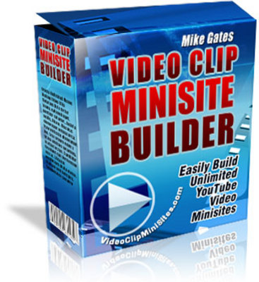 Product picture YouTube VideoClipWebsites Builder (MRR)