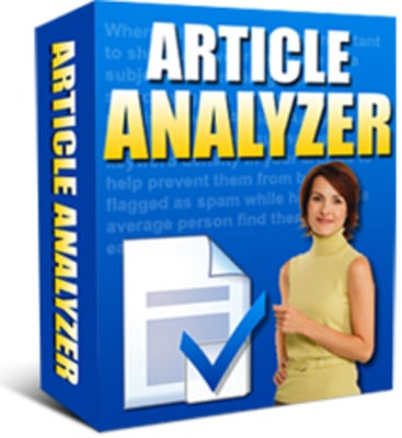 Product picture Article Analyzer Software