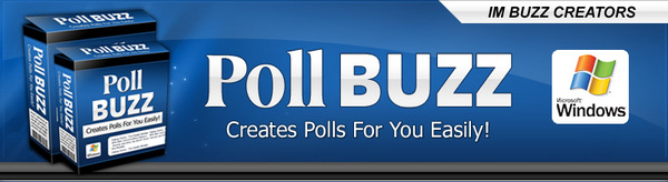 Product picture Poll Buzz: Poll Generator Software (MRR)