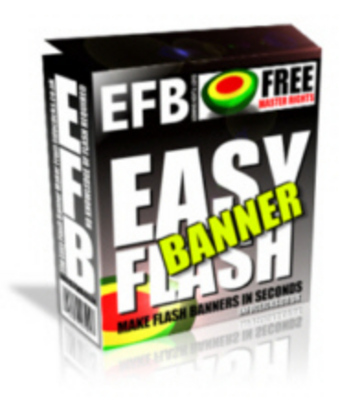 Product picture Easy Flash Banner Maker (MRR)