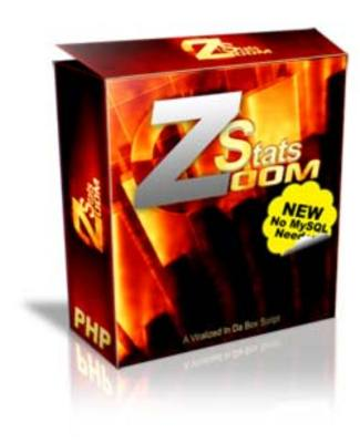 Product picture Zoom Stats Pro: Website Traffic Statistics (MRR)
