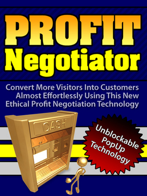 Product picture Profit Negotiator: Unblockable popups (MRR)