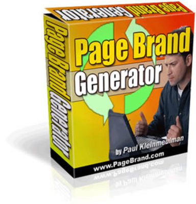 Product picture Page Brand Generator (MRR)