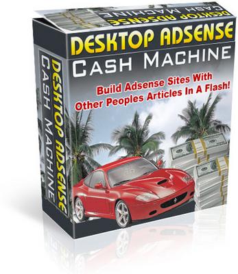 Product picture Desktop Adsense Cash Machine (MRR)