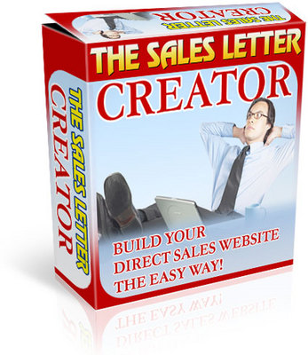 Product picture Sales Letter Creator  (MRR)