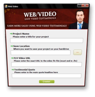 Product picture WebVideo - Powerful Testimonials, Powerful Sales Pitches MRR