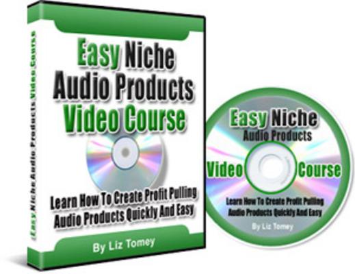 Product picture Easy Niche Audio Video Course: Make interactive multi-media (MRR)