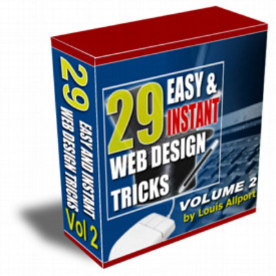 Product picture 29 Easy & Instant Web Design Tricks - Volume 2: