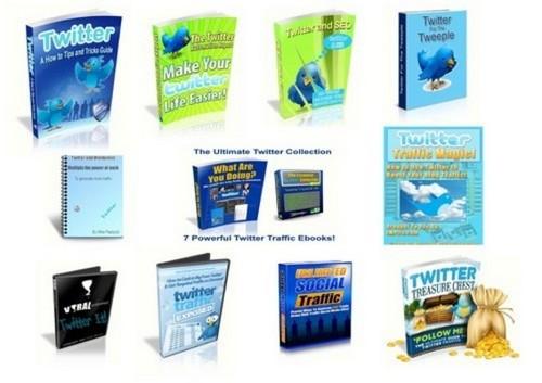 Product picture Twitter PLR Info Bundle - Free Bonuses (MRR)