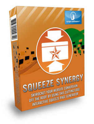 Product picture Squeeze Synergy: Squeeze Page Generator (Resell Rights)