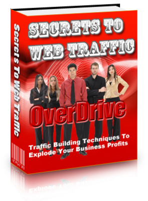 Product picture SECRETS TO WEB TRAFFIC OVERDRIVE (MRR)
