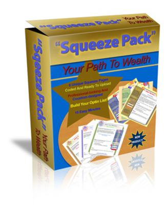 Product picture Squeeze Pages Profit 6 Pack (MRR)