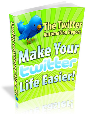 Product picture The Twitter Automation Report w/Resale Rights