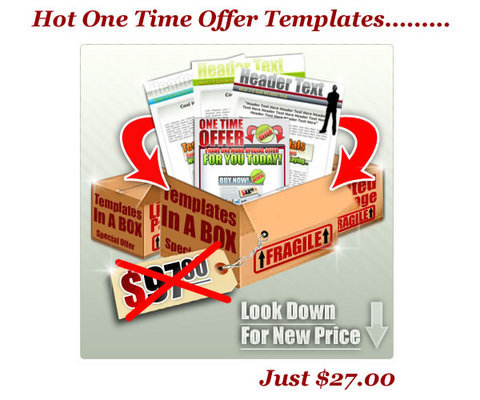 Product picture Hot One Time Offer (OTO) Templates (MRR)